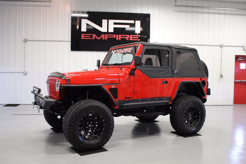LS Swap Jeep