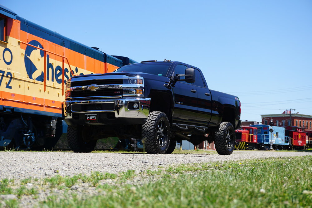 7 inch Lifted Chevy