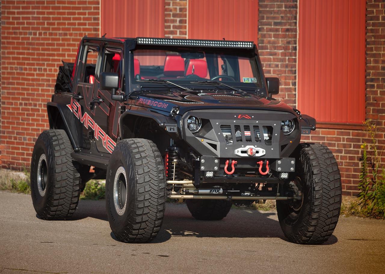 Custom Built Jeep