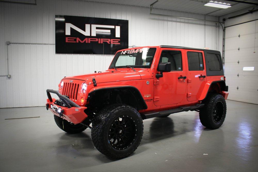 Rock Lobster Jeep