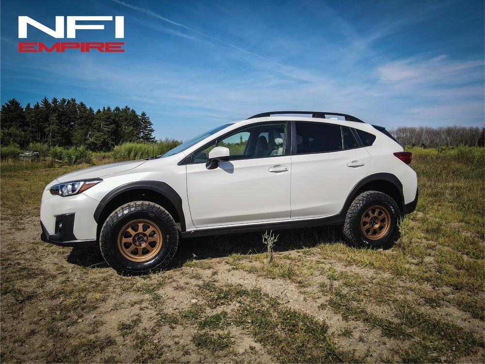 Lifted Subaru Crosstrek