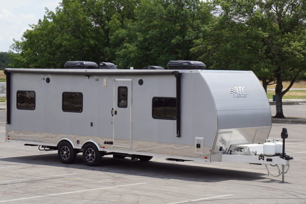 ATC 28′ Toy Hauler w/ Front Bedroom