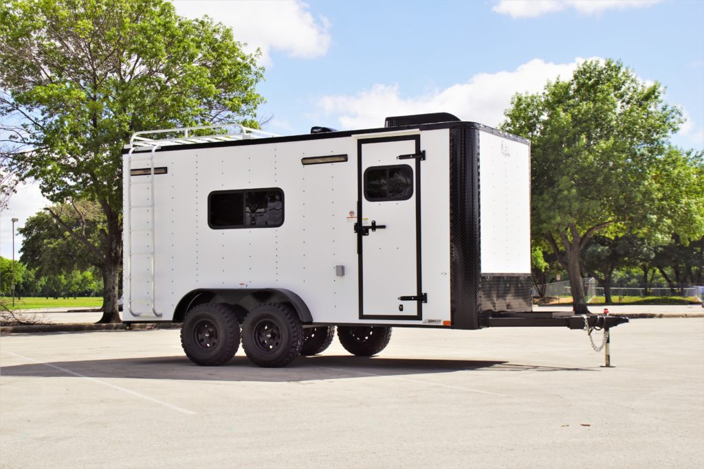 2020 Off Road 7 x 16 UTV Hauler / Base Camper