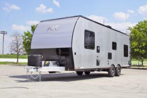 2020 Blackout ATC 28′ Toy Hauler w/ Front Bedroom