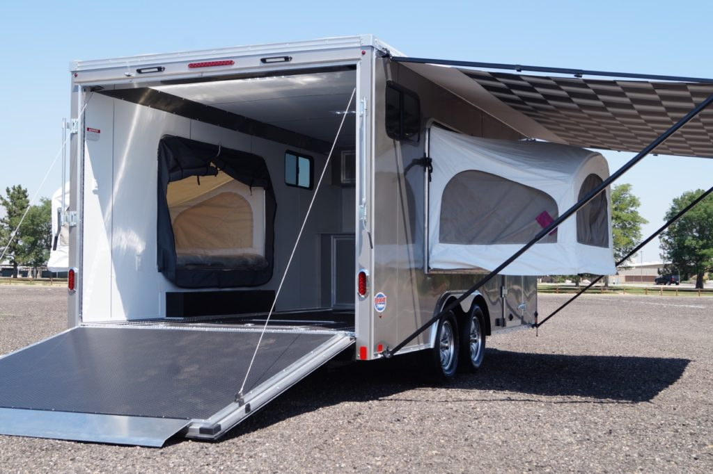 United 8.5′ Wide Double Popout