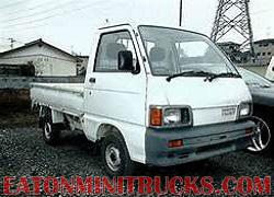 4x4 mini truck in the oil fields