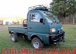95 Suzuki carry mini truck rack bumper lift tires wheels