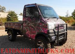 Muddy Girl Camo Lifted custom mini 4z4 Truck