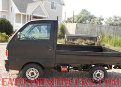95 U42 mini truck black Rhino Lining