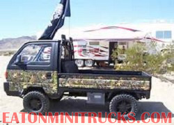 lifted mini truck for hunting and off roading