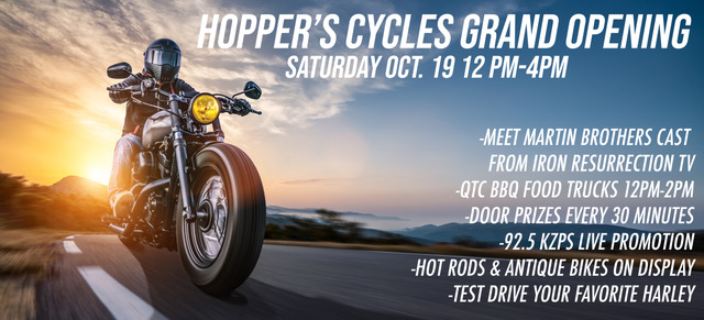 hopper cycles logo
