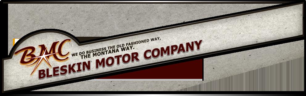 Bleskin Motor Co Logo