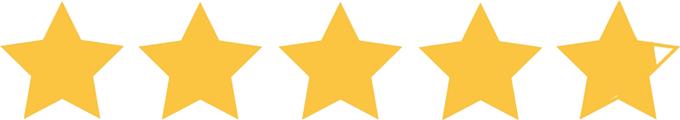 4.9 stars