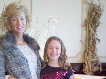 Billie Sue DeForst and Daughter Anne - Tregembo Motors