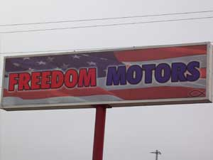 About Freedom Motors - Used Car Dealership in Abilene, Texas