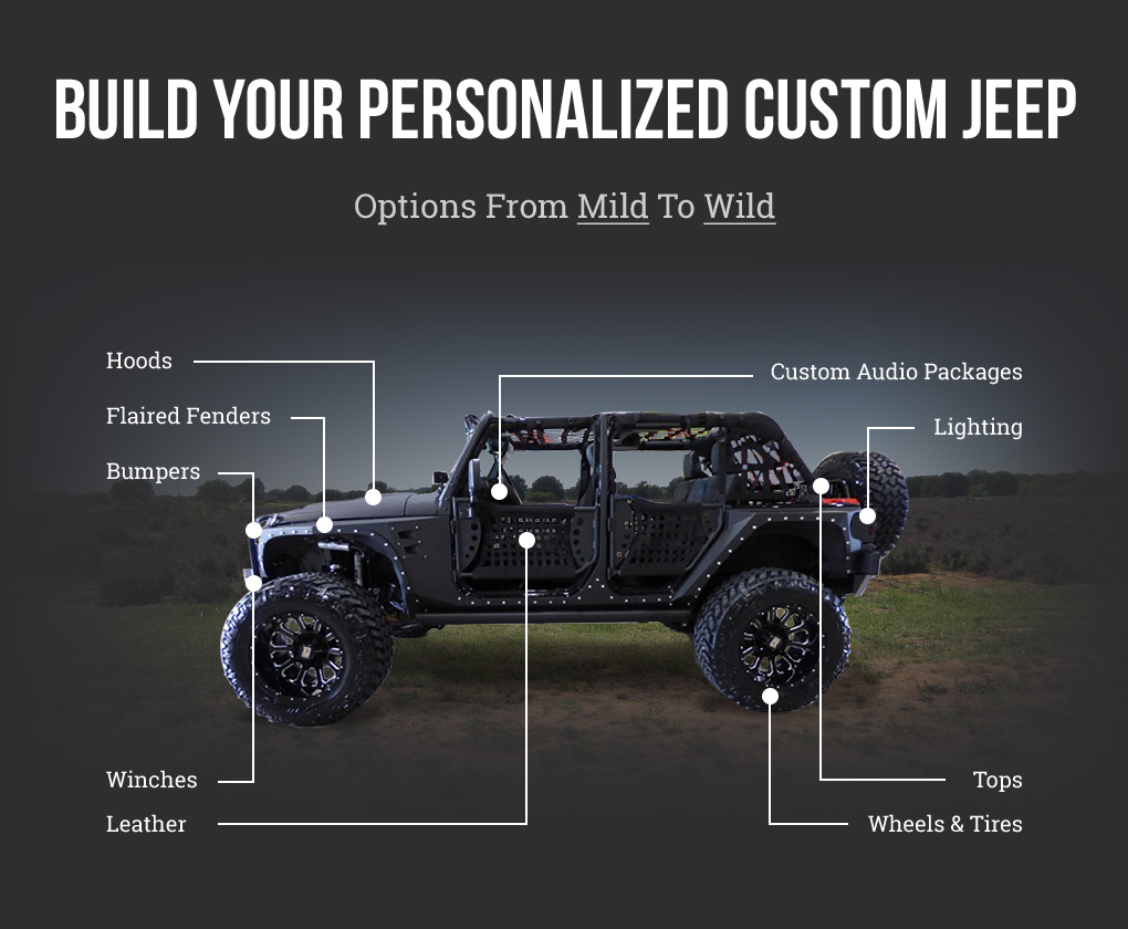 Custom Built Jeeps Texas Vehicle Exchange