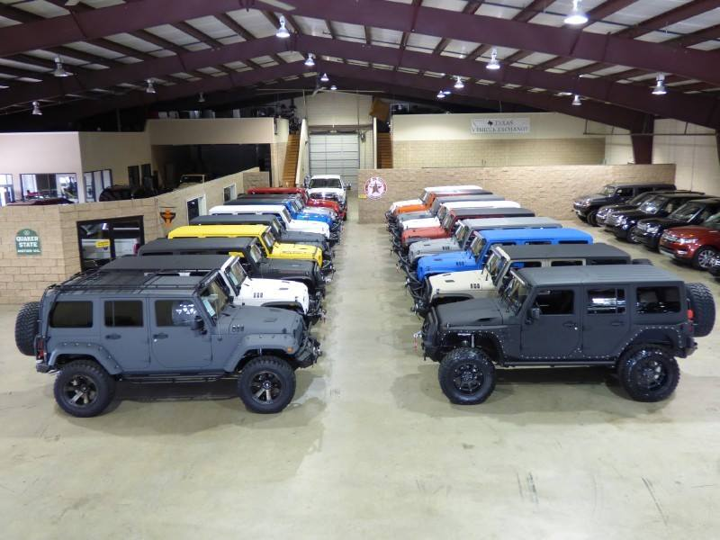 About Texas Vehicle Exchange | Used Custom Jeeps Carrollton TX