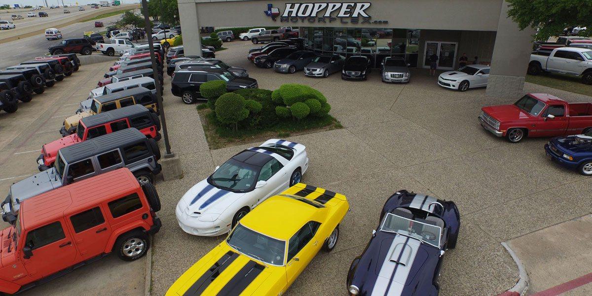 Hopper Motorplex McKinney Tx, 75070