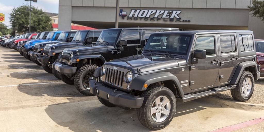 Used Jeeps McKinney - Hopper Motorplex McKinney Tx, 75070