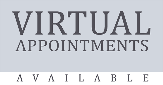 Virtual Appointments Available
