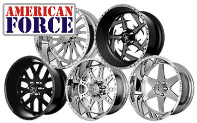 American Force Logo - Big Boy Rides