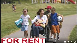 We offer late model wheelchair chair rental vans