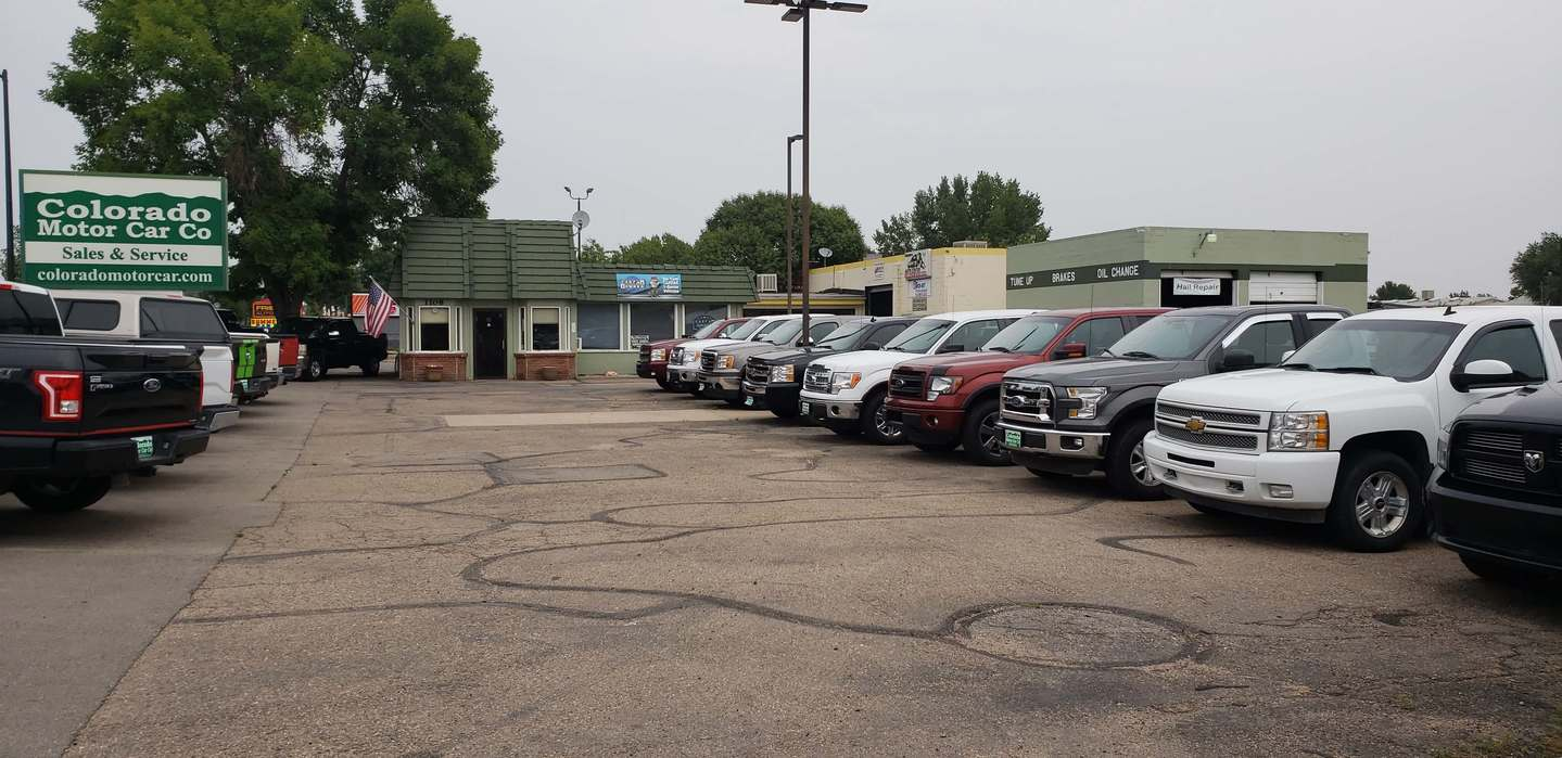 Colorado Used Car Lot - Colorado Motor Car Company
