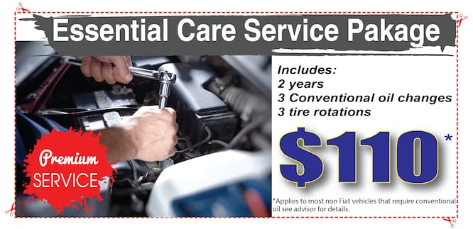 Oil Change Coupon $110