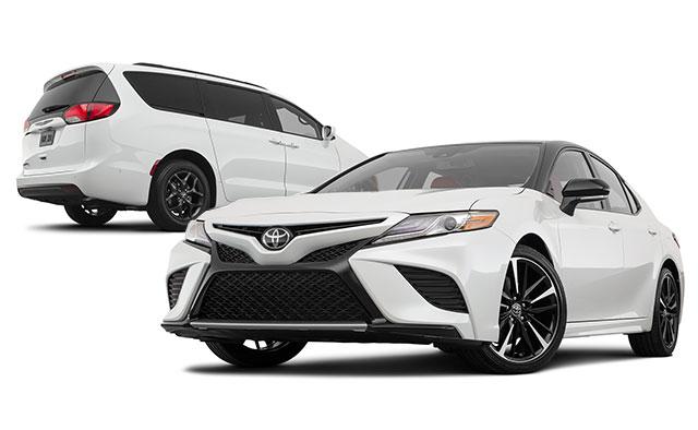 cars and minivan models