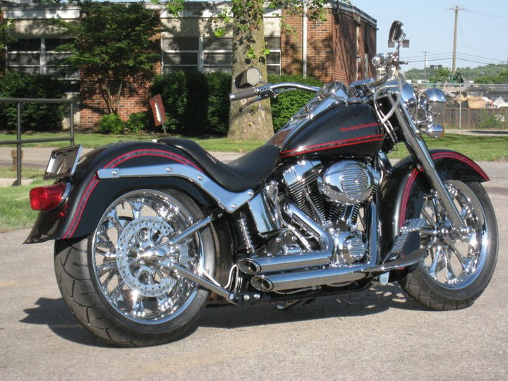 Custom Harley Davidson Motorcycles