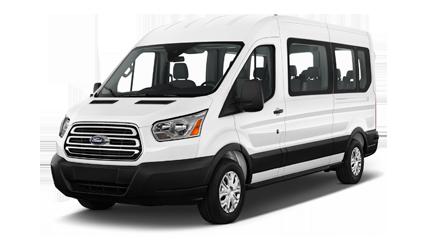 premium 12-passenger van