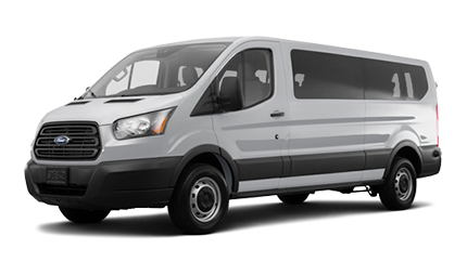 standard 15-passenger van