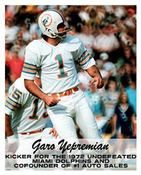 Garo Yepremian Card